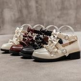 娃娃鞋 洛麗塔梅露露lolita鞋基礎款原創夏可愛中跟學生日繫小皮鞋女森女 - 雙十二交換禮物