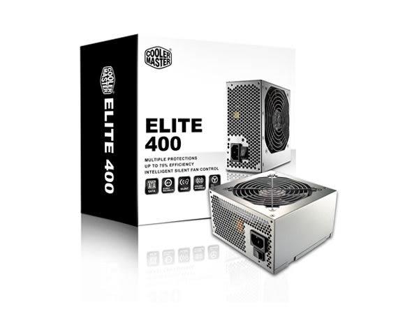 【台中平價鋪】CoolerMaster ELITE 400W 電源供應器 / 2年保固 (RS400-PSARI3)
