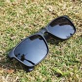 【南紡購物中心】2is FebE 太陽眼鏡 偏光│經典方框│黑色│抗UV400