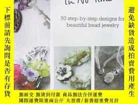 二手書博民逛書店Beading罕見in No Time: 50 Step-by-