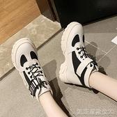 網紅馬丁靴女英倫風冬加絨新款百搭秋款鞋秋季小短靴潮酷 凱斯盾