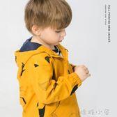 男童沖鋒風衣加絨外套2018新款秋冬裝寶寶童裝兒童3歲1小童潮嬰兒 嬌糖小屋