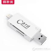 蘋果手機SD相機讀卡器OTG線高速USB3.0內存卡IPHONE轉接頭IPAD   (圖拉斯)