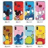 Disney 迪士尼 手指愛心 防摔推蓋卡夾 手機殼│iPhone 6 6S 7 8 Plus X XS MAX XR 11 Pro│z8849