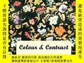 二手書博民逛書店Colour罕見and Contrast -- Artwork of Jindrich DegenY36044