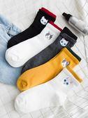 長襪子棉襪女生中筒襪韓版學院風韓國純棉日系全棉潮個性軟妹可愛 享購