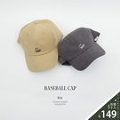 smile微笑英字刺繡棒球帽-BAi白媽媽【316057】