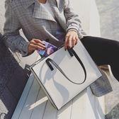托特包新款單肩簡約大容量女士時尚手提包 JD5264【KIKIKOKO】