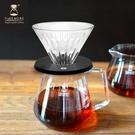 TIMEMORE 泰摩 【玻璃】 冰瞳手沖咖啡套裝組(玻璃分享壺600ml+玻璃濾杯02號)
