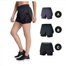 Nike Elevate 2-in-1 女子 訓練 運動 兩件式 排汗短褲 895804 / AJ4198