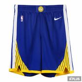 NIKE 男 GSW M NK SWGMN SHORT ROAD  籃球短褲- 866809495