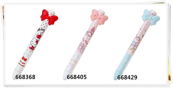 日本製 原子筆 KITTY 668368 美樂蒂 668405 雙色筆 分售 限定