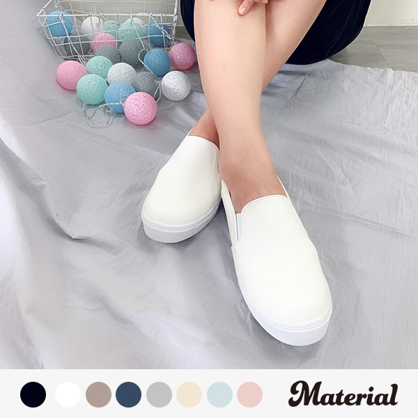 休閒鞋 時尚皮感休閒鞋 真皮鞋墊 MA女鞋 T10070 (正常版)