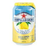 聖沛黎洛 氣泡水果水 罐裝-萊姆口味(330mx24入) 箱購│飲食生活家