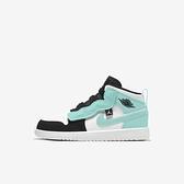 Nike Jordan 1 Mid Alt Ps [AR6351-132] 中童鞋 喬丹 魔鬼氈 保護 蒂芬妮綠 白