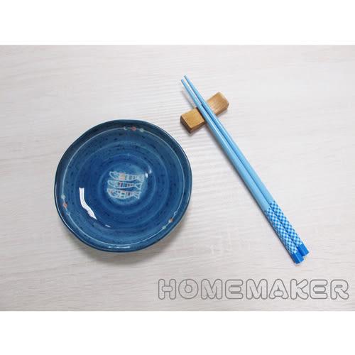 天然竹格紋彩繪筷_JK-35479