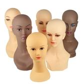 模具 女模特頭假人頭 頭模型光頭模假髪帽子模圍巾展示商場道具支架子 星河光年DF