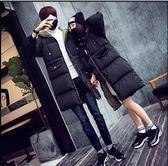 情侶棉衣 中長款冬季棉服 東季韓版大衣 寬松學生面包服 男女款棉襖 加厚棉服 連帽外套 大號外套