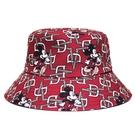 [Disney聯名限量款]漫步 雙面米奇潮流造型漁夫帽(紅)-Daniel Wong狂野夜想系列