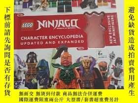 二手書博民逛書店LEGO罕見NINJAGQ(封面缺個玩具)書後邊輕微破損Y234