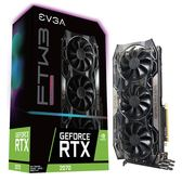 EVGA 艾維克 GeForce RTX 2070 FTW3 ULTRA GAMING 8G GDDR6 RGB 顯示卡
