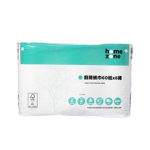HomeZone廚房紙巾60張x6捲