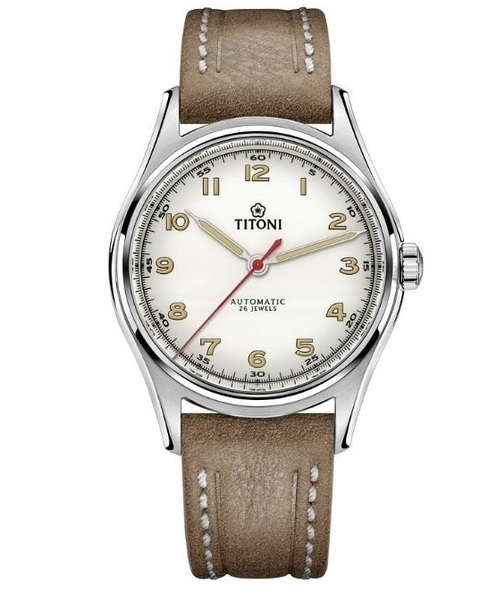 TITONI 梅花錶 傳承系列 經典機械腕錶 83019S-ST-639