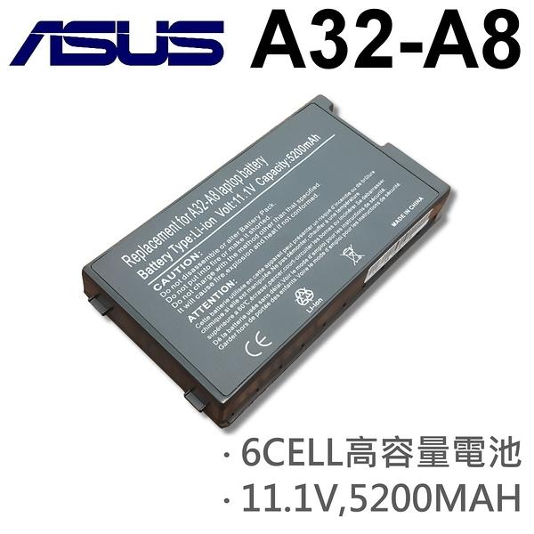 ASUS 6芯 日系電芯 A32-A8 電池 A8S A8Sc A8Se A8Sg A8Sr A8Tc A8Tm A8Z A8000 AS000Dc A8000E A8000F