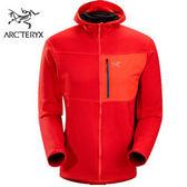 丹大戶外用品【Arc'teryx】始祖鳥Fortrez Hoody男款保暖內刷毛連帽外套/透氣排汗 5013312725C 椒紅