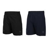 FIRESTAR 女彈性平織短褲(五分褲 慢跑 運動 反光≡體院≡ CL025