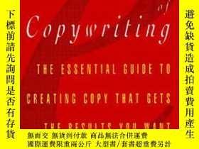 二手書博民逛書店Elements罕見Of Copywriting: The Es
