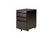 【YUDA】OA 辦公家具 ABS 活動櫃 黑體 附文具盒/活動層板 鎖抽 抽屜櫃/收納櫃