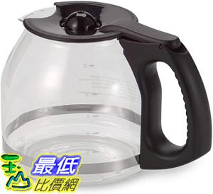 [8美國直購] Mr. Coffee 咖啡壺 12-Cup Replacement Decanter with Ergonomic Handle in Black