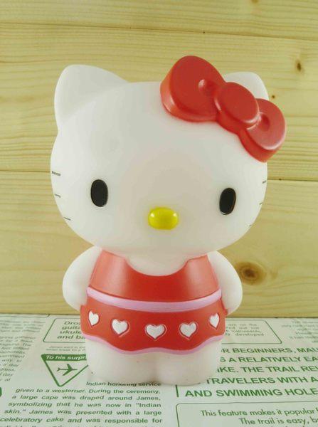 【震撼精品百貨】Hello Kitty 凱蒂貓~塑膠造型存錢筒~粉Yuki