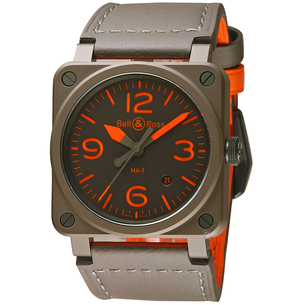 Bell&Ross Instruments系列陶瓷機械錶 BR0392-KAO-CE/SCA