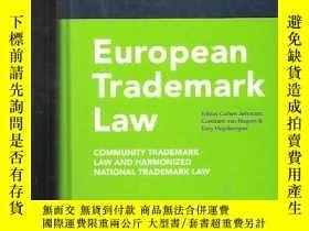二手書博民逛書店European罕見Trademark Law【英文原版 精裝】歐洲商標法Y13822 Tobias Cohe
