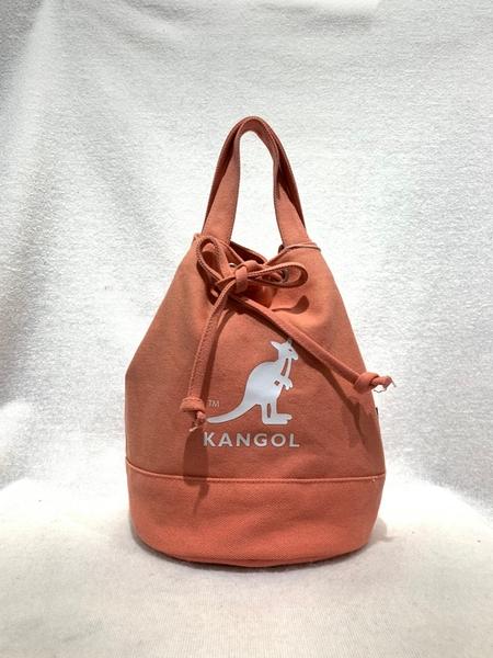 KANGOL 粉色側背休閒小包-NO.6925300742