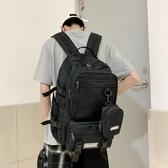 後背包高中生書包男ins韓版原宿ulzzang女生大容量後背背包15.6寸電腦包 雙11 伊蘿
