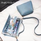 手提包-夏日清涼果凍包透明包二件式斜背包 (SBA0311) AngelNaNa