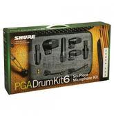 【金聲樂器】SHURE PGADRUMKIT6 Drum Microphone Kit 鼓類收音麥克風組 原廠公司貨