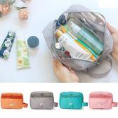 韓版 掛壁手提圖騰盥洗包 多功能盥洗包 收納包 盥洗包 洗漱包 旅行收納 化妝包【RB549】