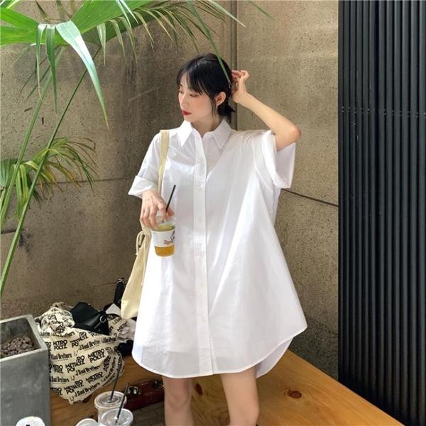 大尺碼女裝2020新款大碼女裝胖mm夏裝遮肚微胖顯瘦減齡上衣設計感連衣裙子潮