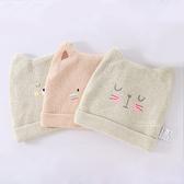天然質感動物表情嬰兒帽 寶寶帽 帽子 保暖帽 新生兒帽