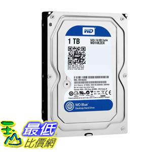 [美國直購 ] 硬碟驅動器 WD Blue 1 TB Desktop Hard Drive: 3.5 Inch,7200 RPM,SATA 6 Gb/s,64 MB Cache - WD10EZEX