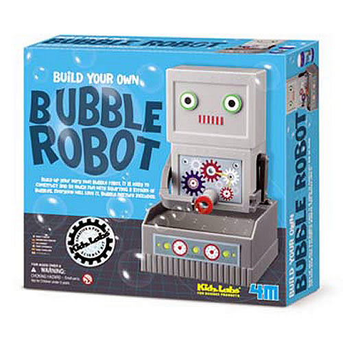 【4M 創意 DIY】Bubble Robot   愛吹泡泡機器人