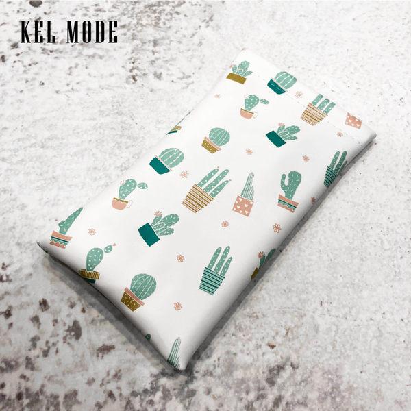 【KEL MODE】太陽眼鏡袋/哈哈袋/軟式眼鏡袋/手機袋(紅鶴)