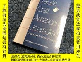 二手書博民逛書店The罕見Values and Craft of America