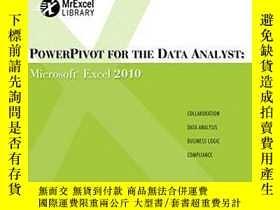 二手書博民逛書店Powerpivot罕見For The Data AnalystY256260 Bill Jelen Que