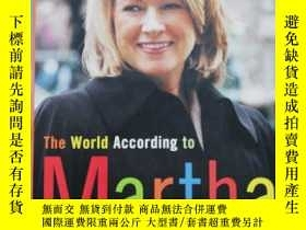 二手書博民逛書店The罕見World According to MarthaY2
