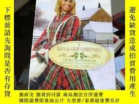 二手書博民逛書店a罕見blue & gray christmasY15389